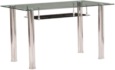 Parin Metal 6 Seater Dining Table