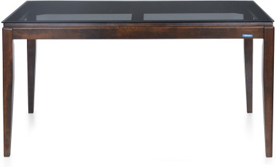 Nilkamal Hampshire Solid Wood 6 Seater Dining Table(Finish Color - Brown)