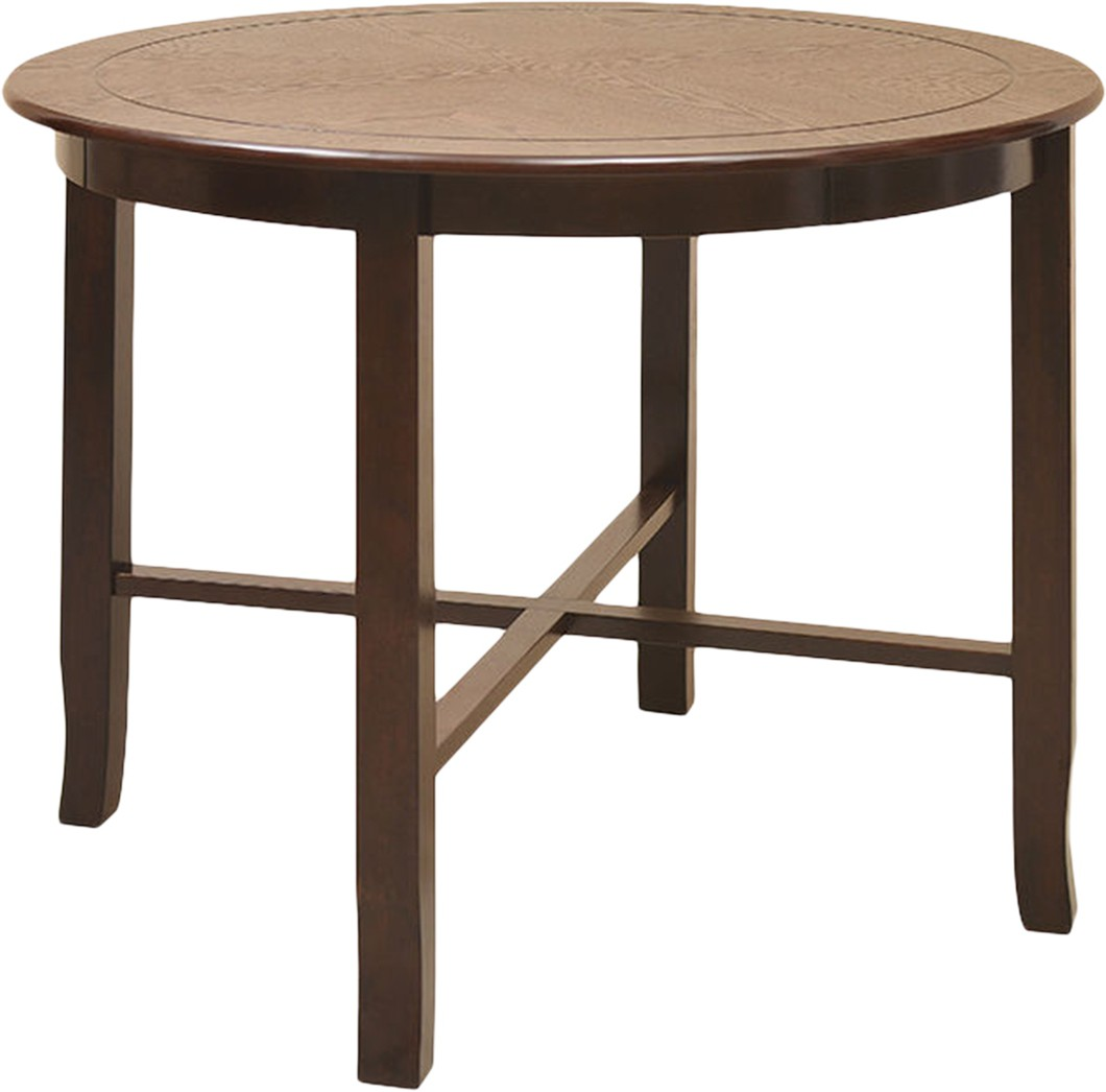 @home by Nilkamal Lauren Solid Wood 4 Seater Dining Table