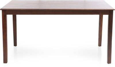 Evok Eastern Solid Wood 6 Seater Dining Table