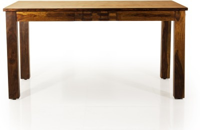 Evok Silvia Solid Wood 6 Seater Dining Table