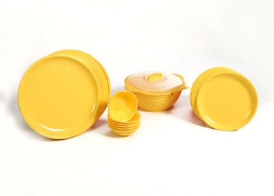 Signoraware 201 Round Pack of 21 Dinner Set