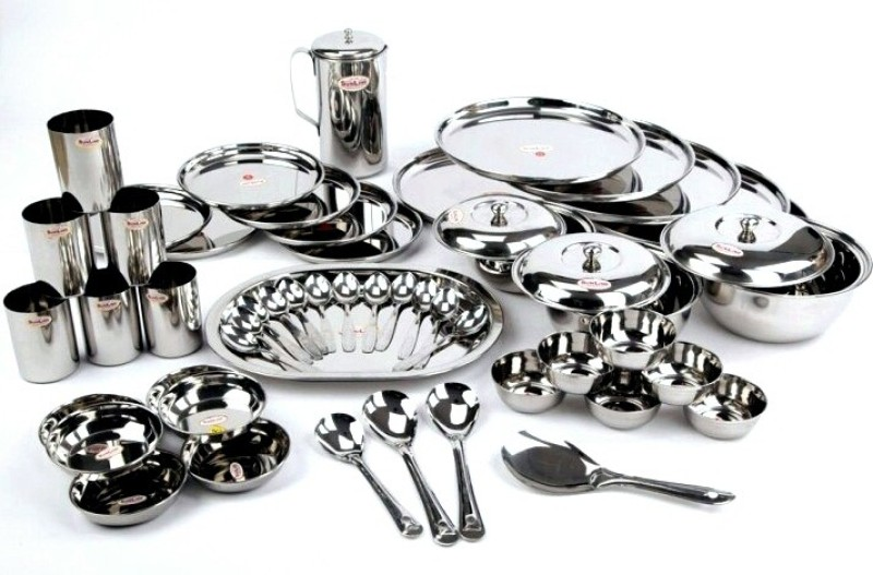 Sunline Pack of 51 Dinner Set(Stainless Steel)