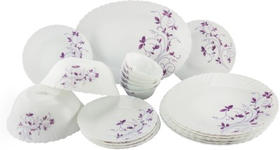 La Opala Diva Pack of 21 Dinner Set