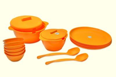ASP Polyplast Pack of 18 Dinner Set