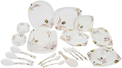 KUNKA Dinner set Pack of 41 Dinner Set(Melamine)