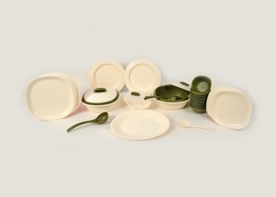 Signoraware 240 With Double Wall Casserole Pack of 36 Dinner Set(Plastic)