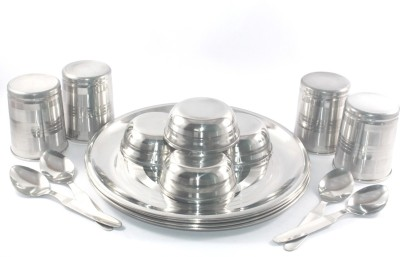 Clobber Pack of 16 Dinner Set(Stainless Steel)