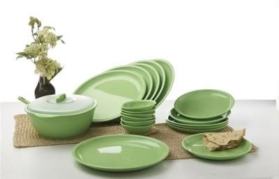 Signoraware Pack of 21 Dinner Set(Plastic)