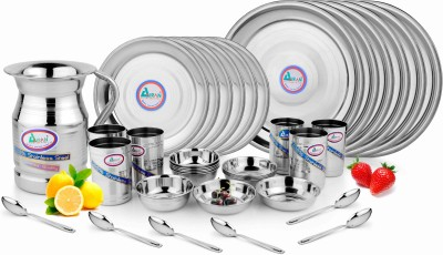 AIRAN Pack of 31 Dinner Set(Stainless Steel)