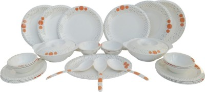 Czar Pack of 32 Dinner Set(Melamine)