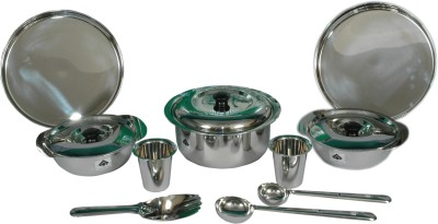 SAIL SALEM STAINLESS Pack of 10 Dinner Set(Stainless Steel)