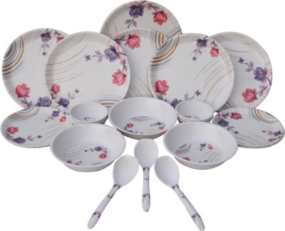 Czar Pack of 24 Dinner Set(Melamine)
