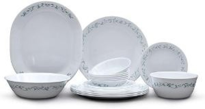 Corelle Pack of 30 Dinner Set(Glass)