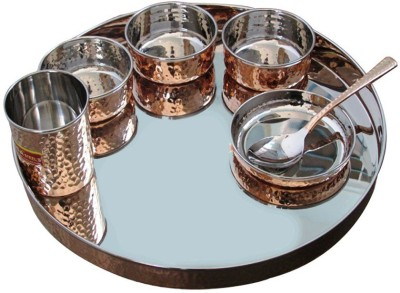 Rastogi Handicrafts Pack of 7 Dinner Set