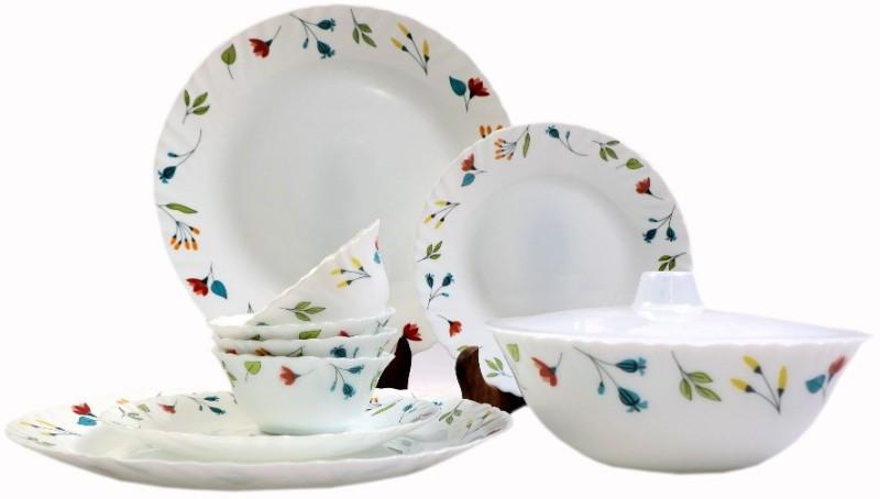Larah Minerva Pack of 10 Dinner Set(Opalware)