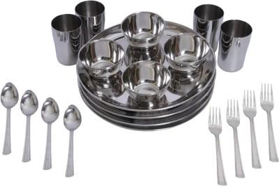 Deemark Dinner Set(Stainless Steel)