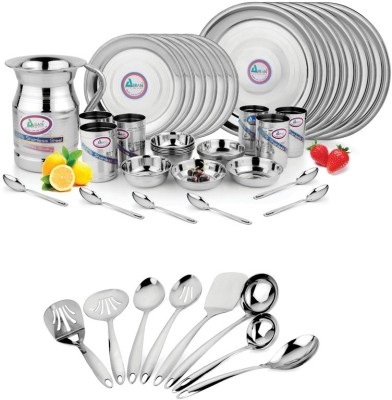 AIRAN Pack of 45 Dinner Set(Stainless Steel)