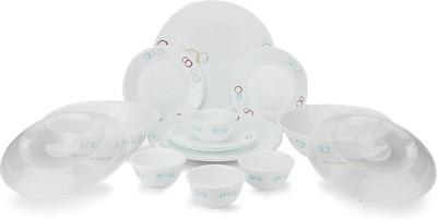 Corelle Livingware Pack of 16 Dinner Set(Glass)