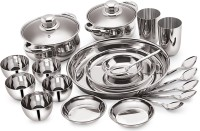 Neelam Dinner Set(Stainless Steel)