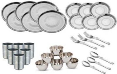 STYLE n PASSION stainless steel Pack of 30 Dinner Set