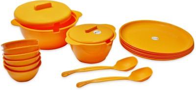 ASP Polyplast Kitchenpride Pack of 18 Dinner Set