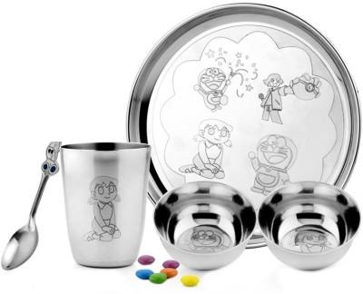 Demkas Bajaj cartoon character Pack of 5 Dinner Set