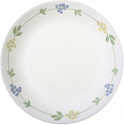 Corelle Livingware Secret Garden Pack of 6 Dinner Set(Glass)