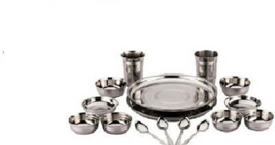 STYLE n PASSION stainless steel dinner set Pack of 16 Dinner Set