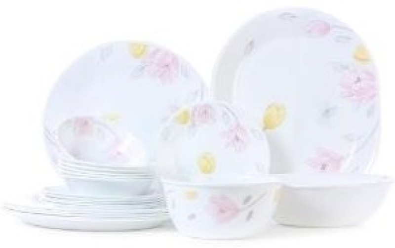 Corelle Pack of 21 Dinner Set(Glass)