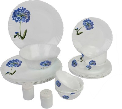 La Opala blooming buds Pack of 20 Dinner Set(Opalware)