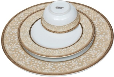 Lakline 80139 Pack of 18 Dinner Set(Porcelain)