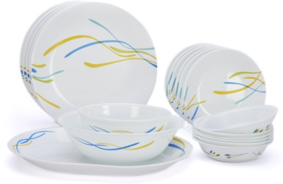 Corelle India Impressions Waves Pack of 21 Dinner Set
