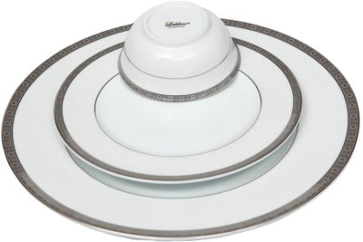 Lakline 80105 Pack of 18 Dinner Set(Porcelain)