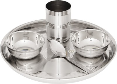 Airan Solid Grace Pack of 5 Dinner Set