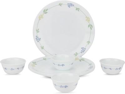 Corelle Livingware Pack of 8 Dinner Set(Glass)
