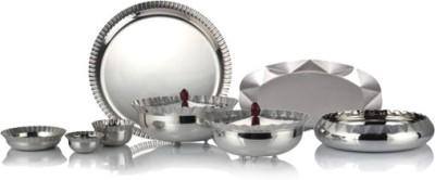 Arttdinox Nidhi Facet Range Pack of 34 Dinner Set