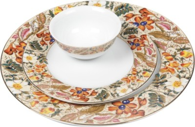 Lakline Pack of 18 Dinner Set(Porcelain)
