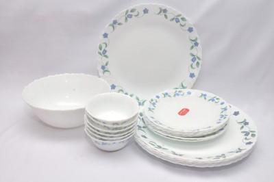 La Opala Juniper Blue Pack of 19 Dinner Set