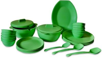 ASP Polyplast Kitchenpride Pack of 32 Dinner Set