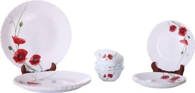 Larah Pack of 12 Dinner Set(Glass)