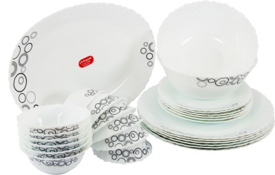La Opala Diva Pack of 27 Dinner Set