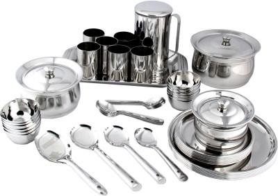 RV2 Pack of 51 Dinner Set(Stainless Steel)