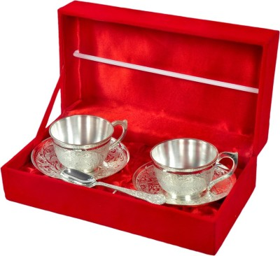 Odna Bichona Silver Plated Royal Cup Set OBS00036(Silver, Pack of 6) at flipkart