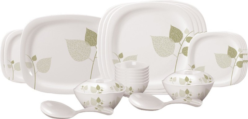 Servewell Pack of 25 Dinner Set(Melamine)