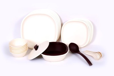 Signoraware 254 With Double Wall Casserole Pack of 27 Dinner Set