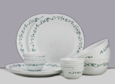 Corelle Pack of 14 Dinner Set(Glass)