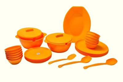 ASP Polyplast Pack of 32 Dinner Set