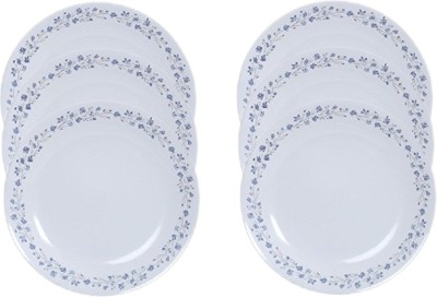Corelle Lilac Blush Pack of 6 Dinner Set(Glass)