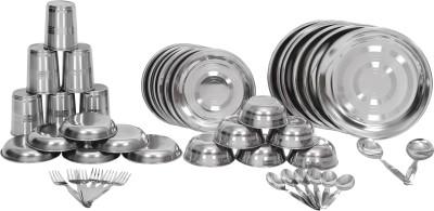 Scitek Pack of 44 Dinner Set(Stainless Steel)